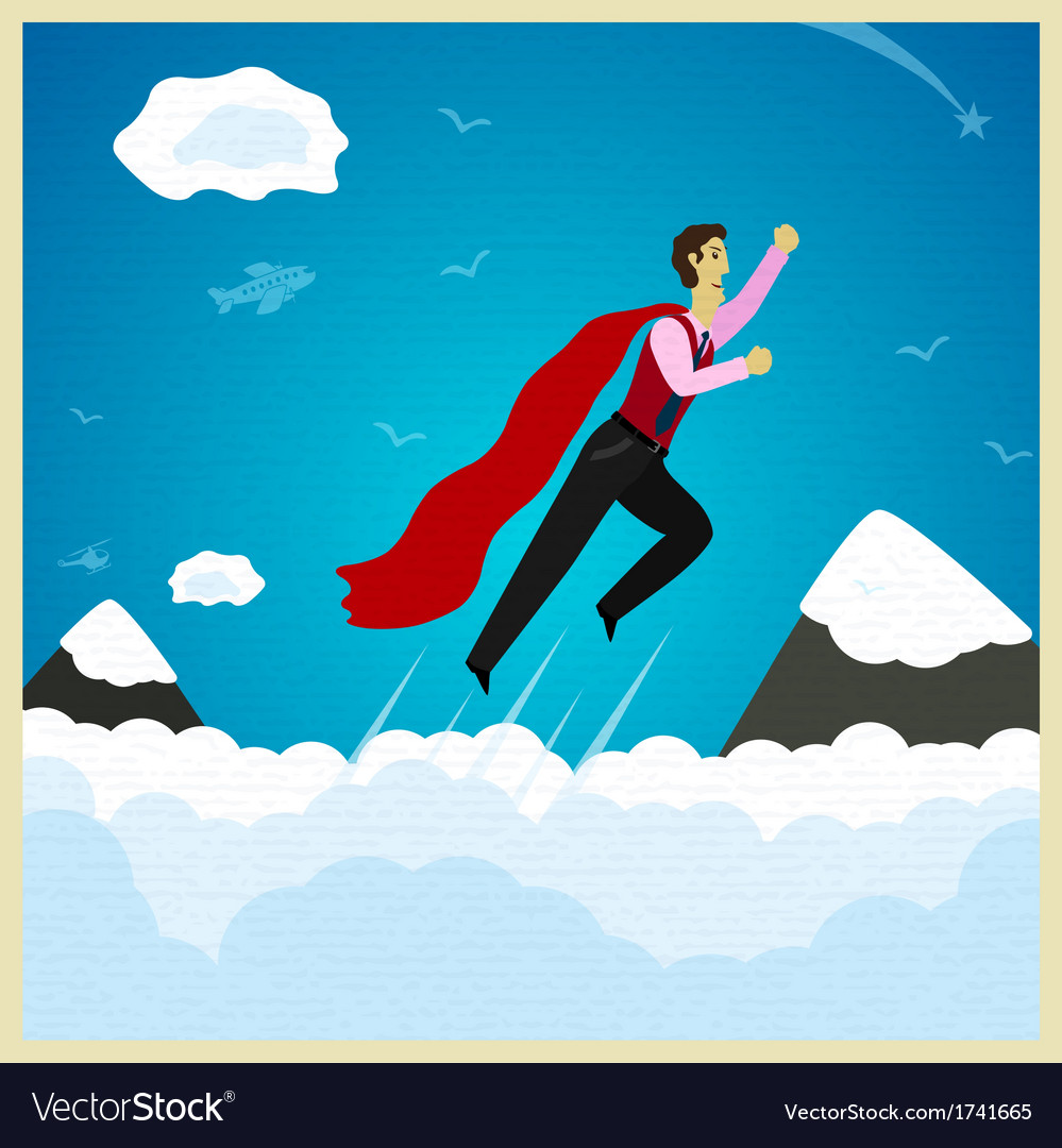 Superman vector | Price: 1 Credit (USD $1)