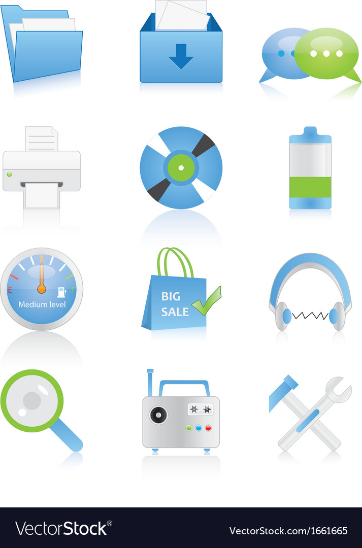 Web icons 15 vector | Price: 1 Credit (USD $1)