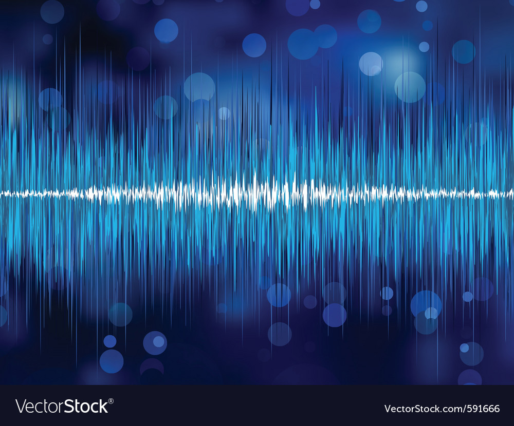 Abstract waveform vector | Price: 1 Credit (USD $1)