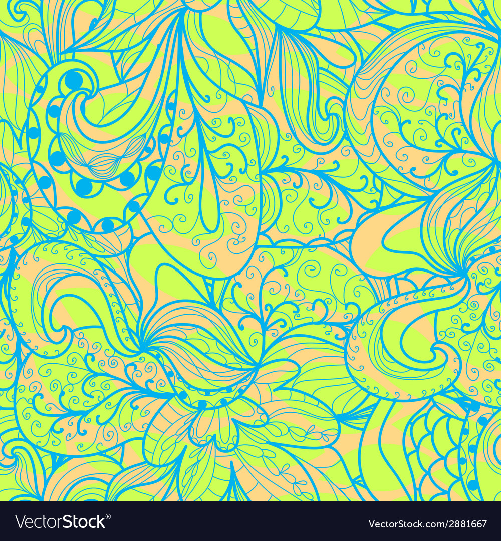Abstract seamless hand-drawn pattern vector   Price: 1 Credit (USD $1)