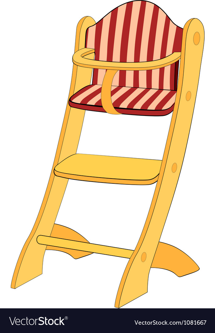 Childrens chair vector | Price: 1 Credit (USD $1)