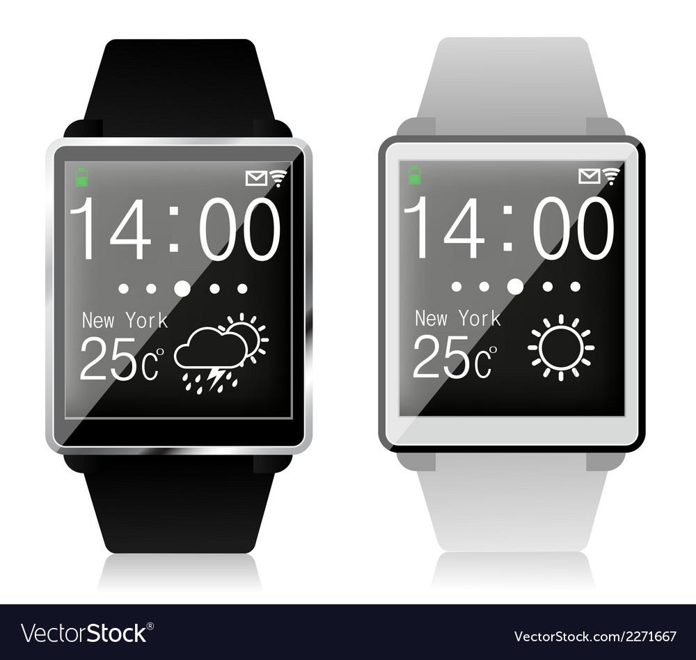 Fancy watch vector | Price: 1 Credit (USD $1)