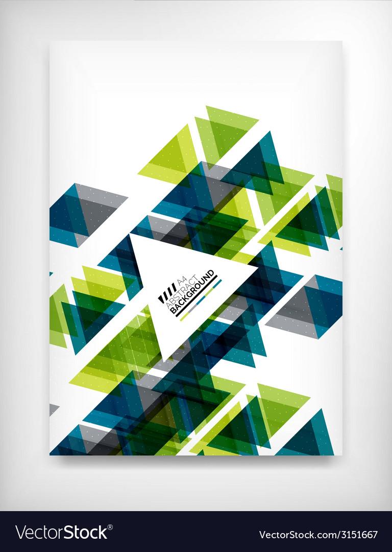 Flyer brochure design template layout vector | Price: 1 Credit (USD $1)