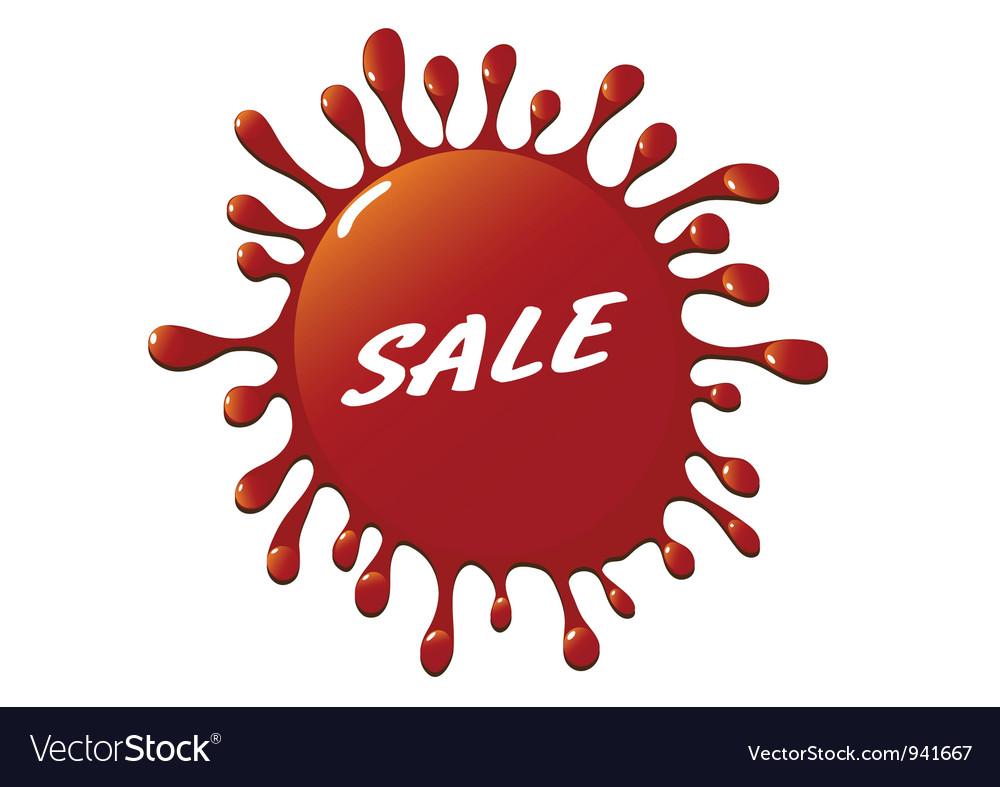 Sale vector | Price: 1 Credit (USD $1)