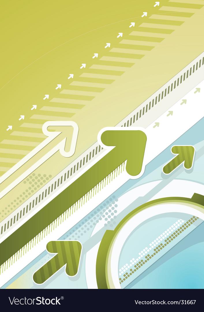 Techno urban background vector