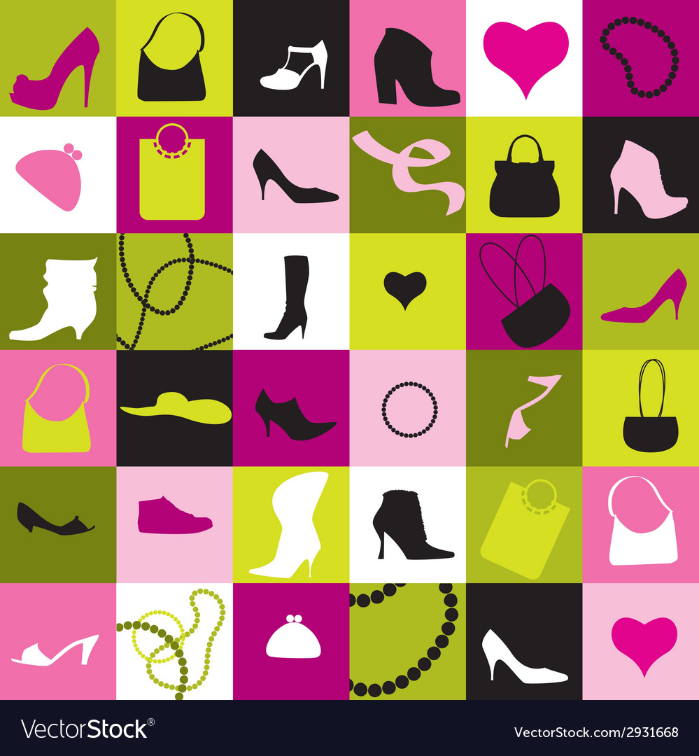 Background of accessories vector | Price: 1 Credit (USD $1)