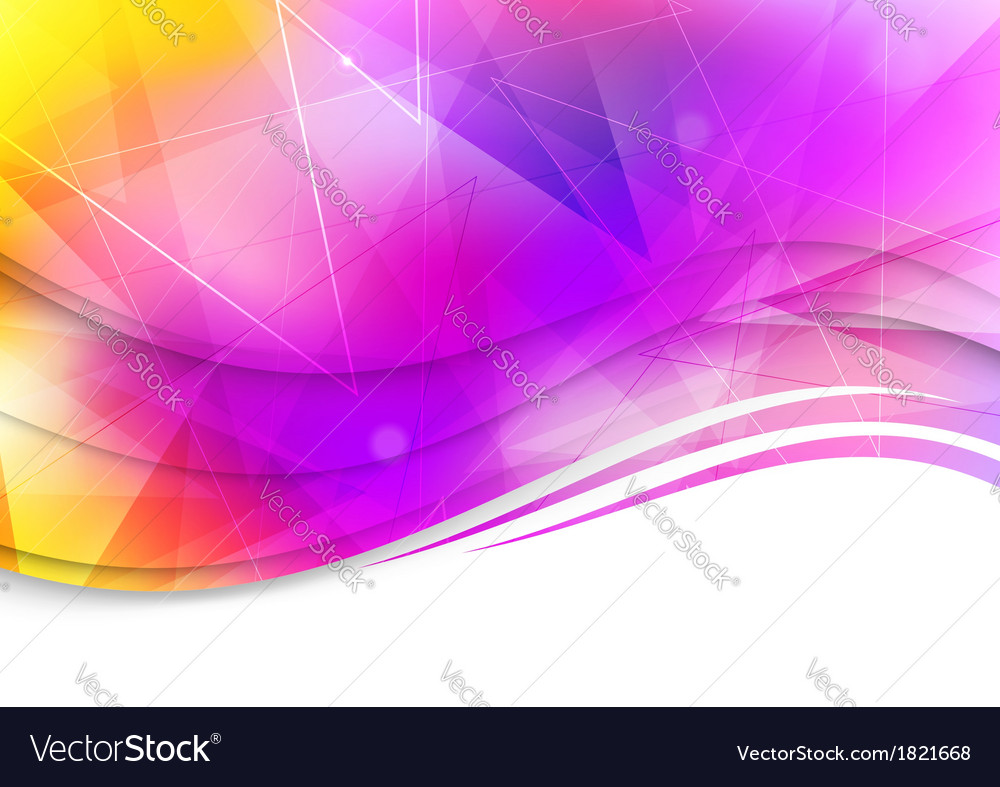 Colorful abstract template - background vector | Price: 1 Credit (USD $1)