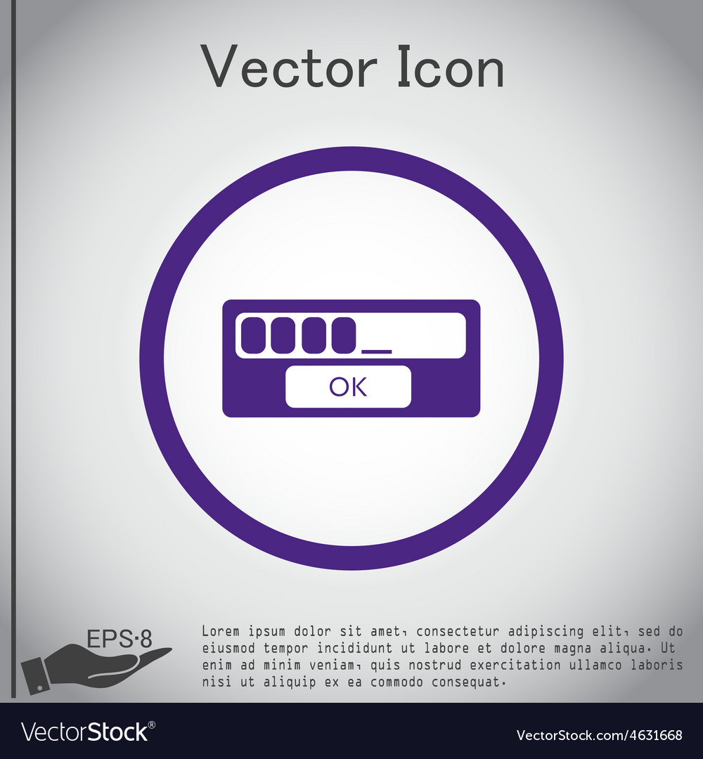 Web-interface vector | Price: 1 Credit (USD $1)