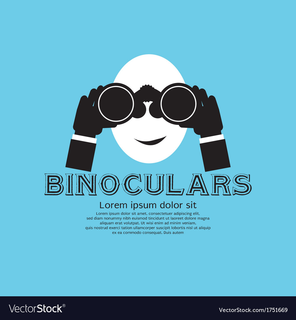 Binocular eps10 vector | Price: 1 Credit (USD $1)