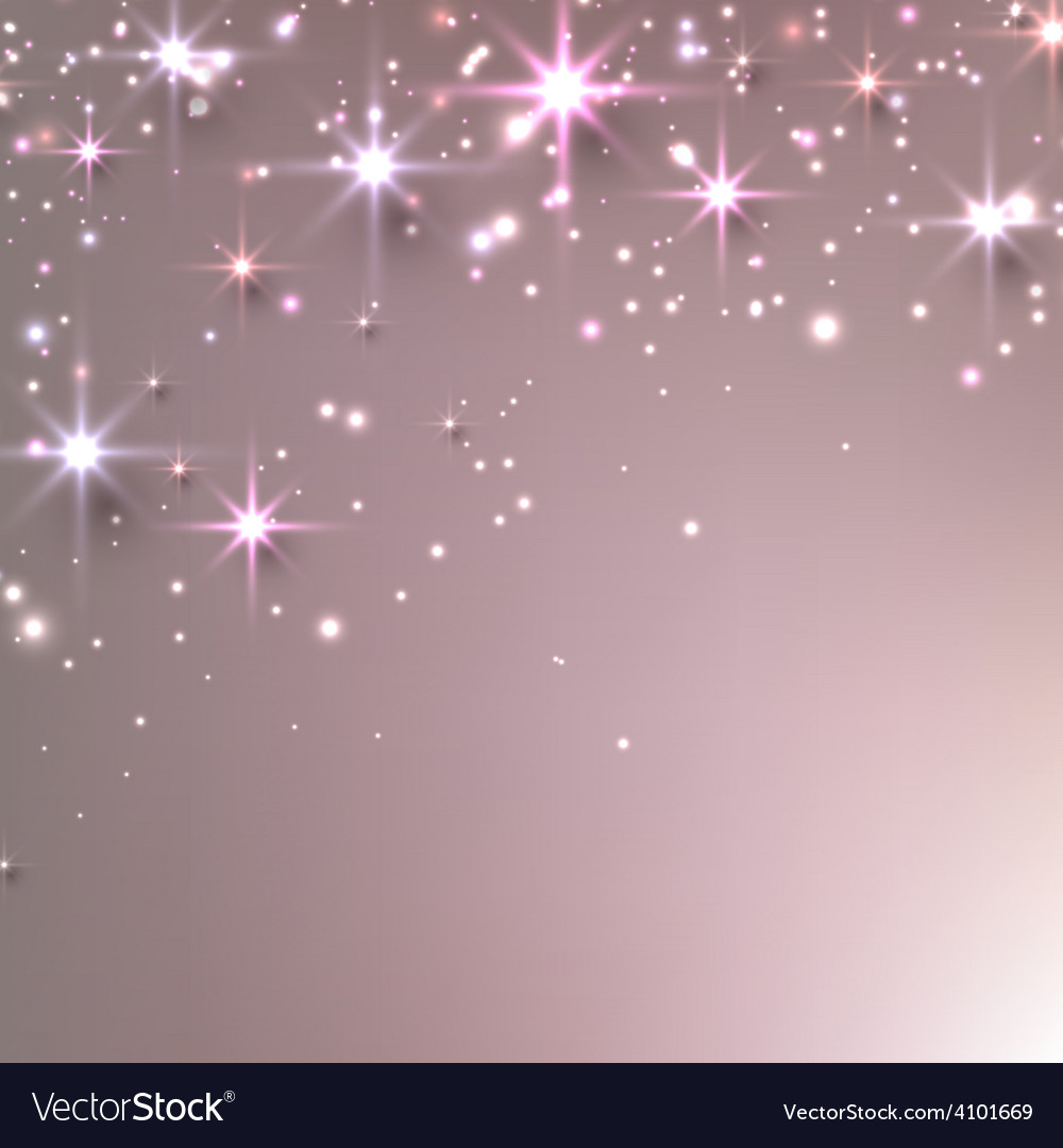 Christmas starry background with sparkles vector | Price: 1 Credit (USD $1)