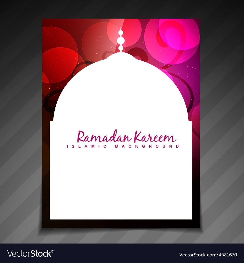 Elegant ramadan festival vector | Price: 1 Credit (USD $1)