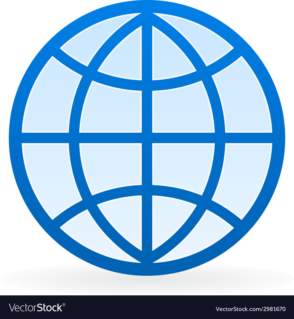 Globe symbol vector | Price: 1 Credit (USD $1)