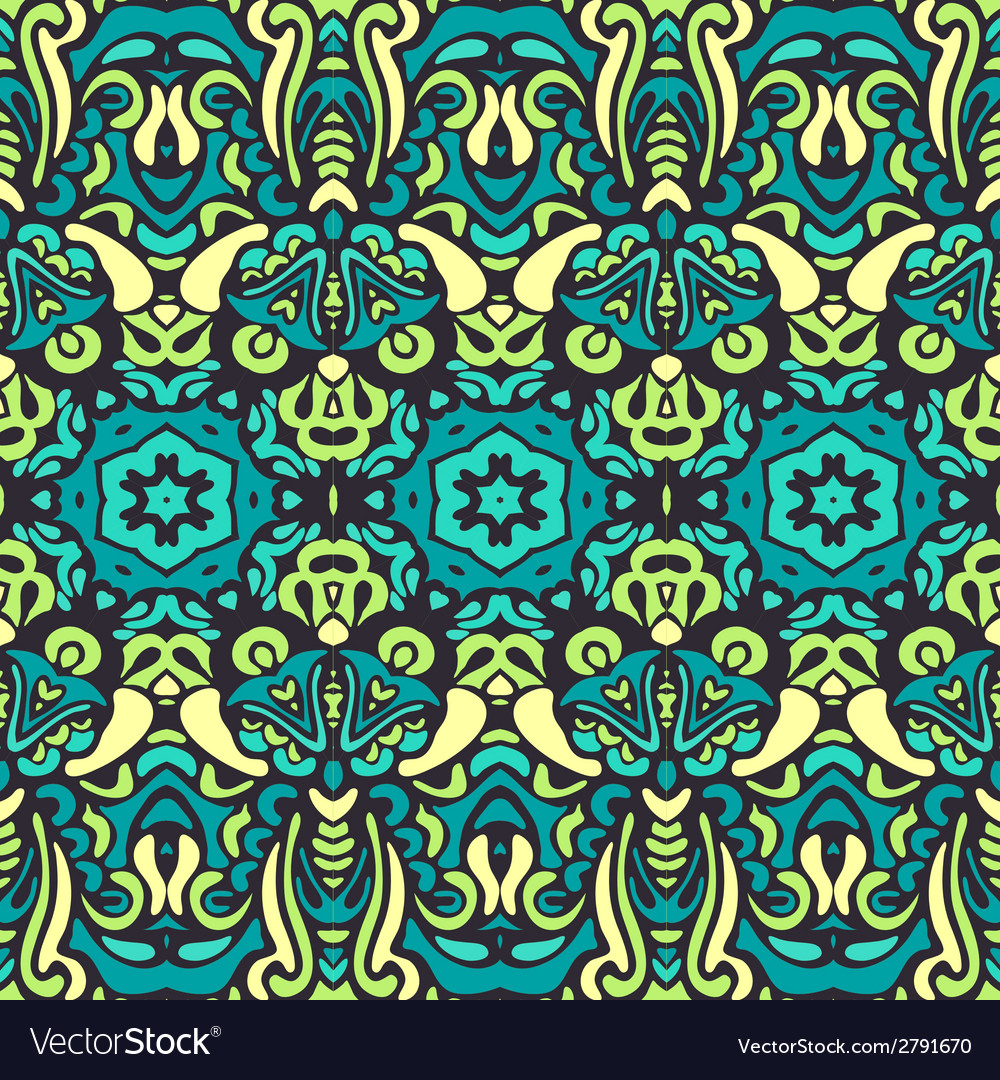 Ornamental abstract seamless background vector | Price: 1 Credit (USD $1)