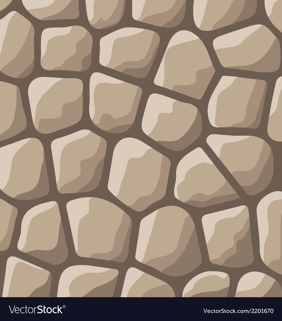 Texture of stones in brown colors vector | Price: 1 Credit (USD $1)