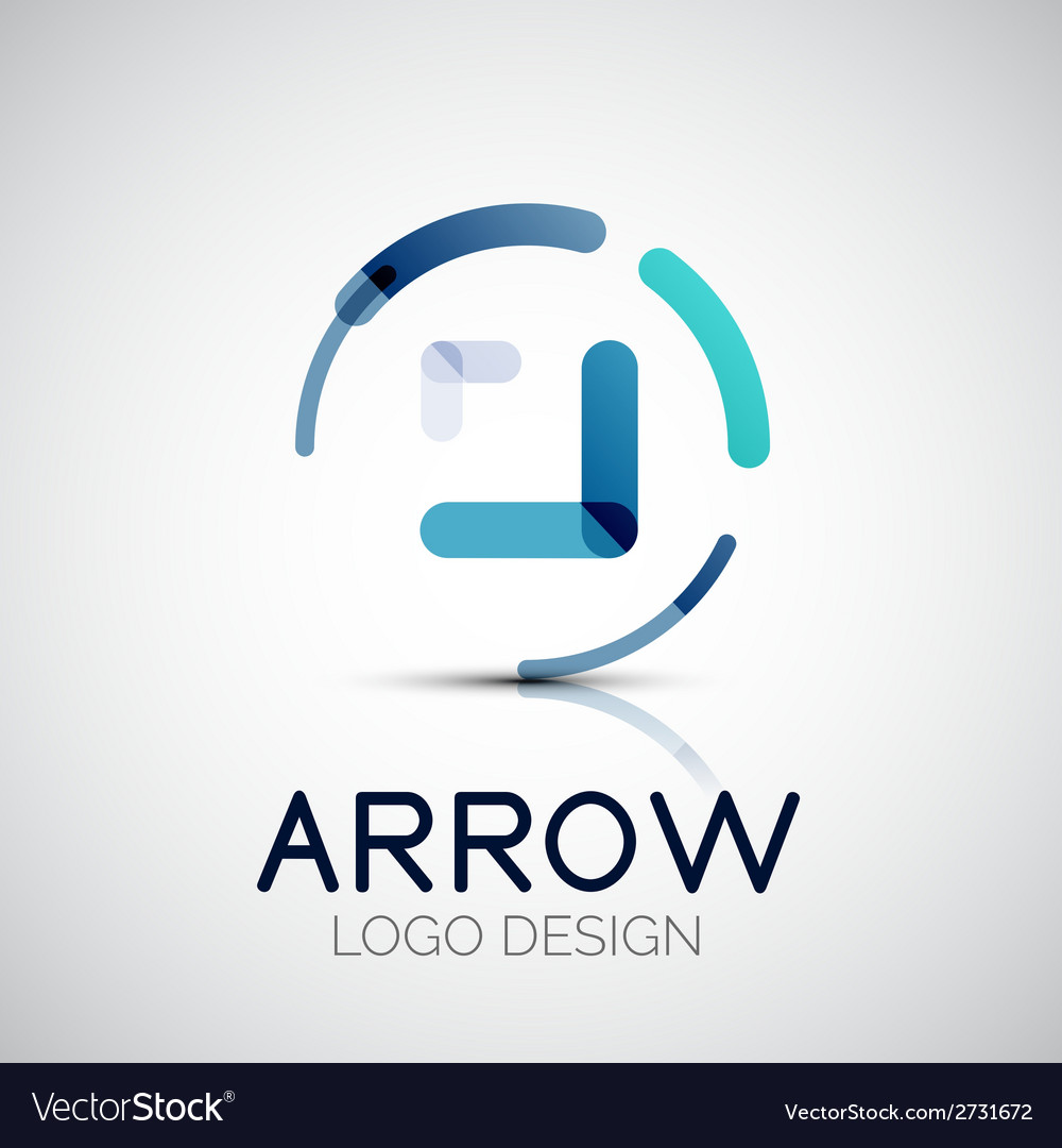Arrow company logo vector | Price: 1 Credit (USD $1)