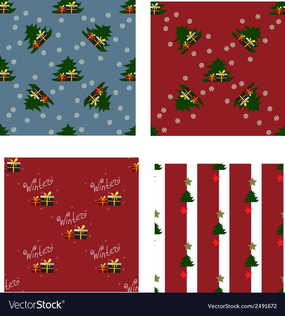 Winter pattern2 vector | Price: 1 Credit (USD $1)