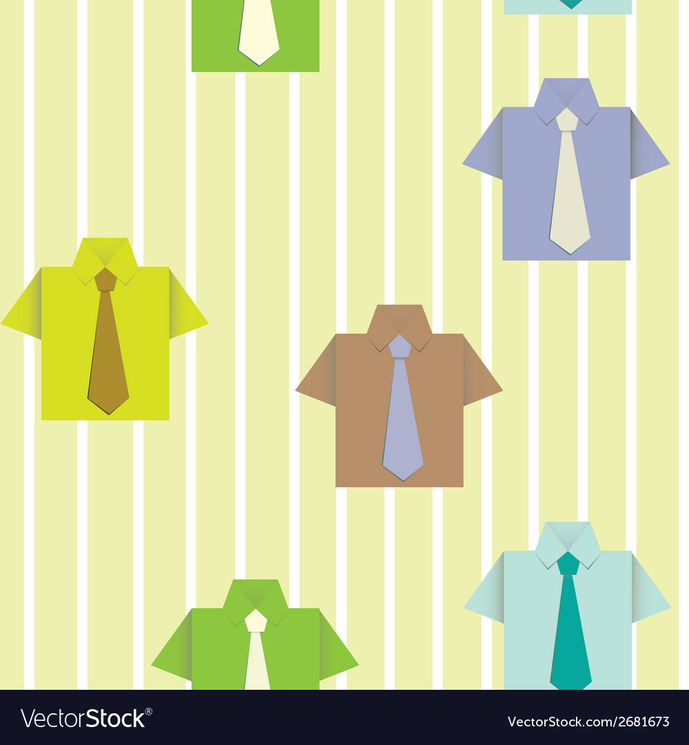Background with a shirt vector | Price: 1 Credit (USD $1)