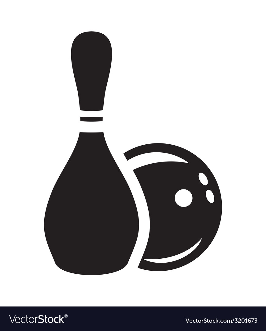 Bowling3 vector | Price: 1 Credit (USD $1)