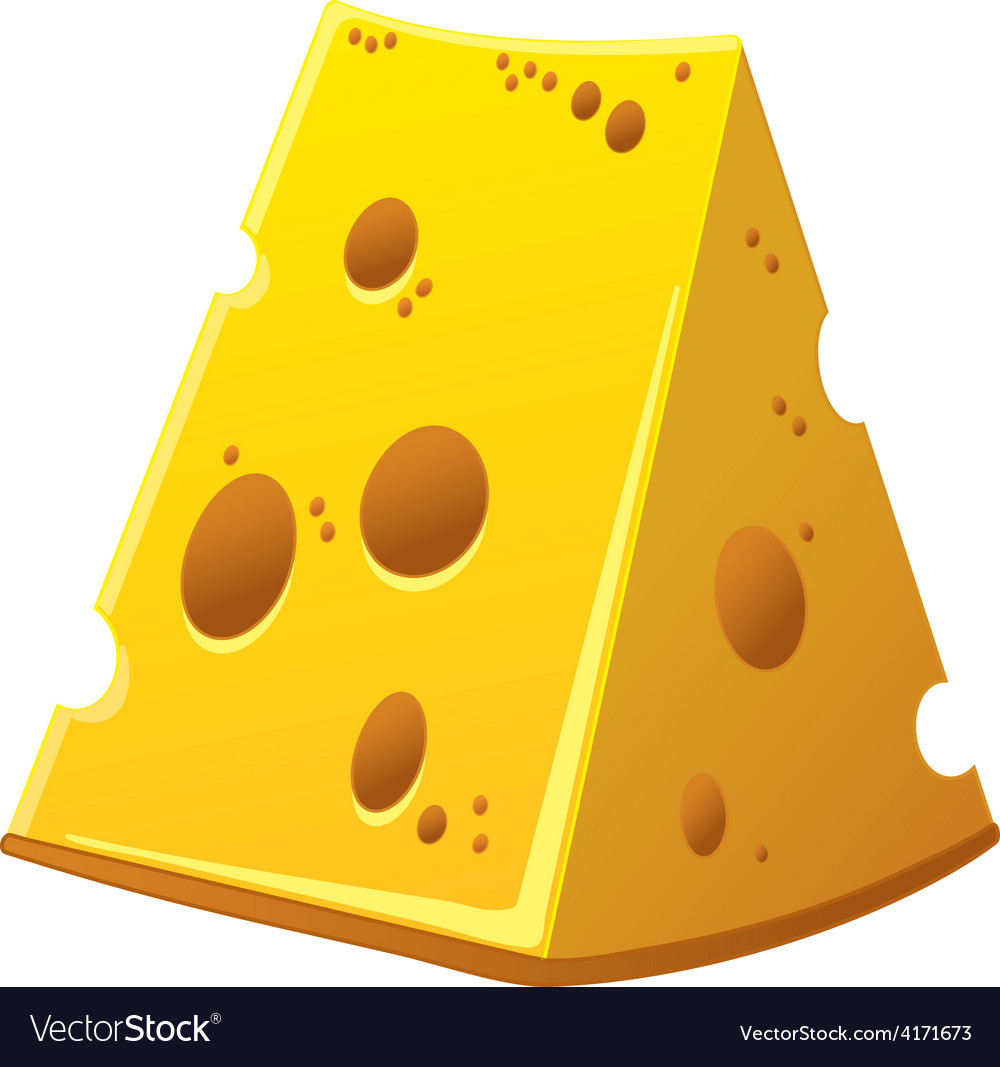 Cheese in detail vector | Price: 3 Credit (USD $3)