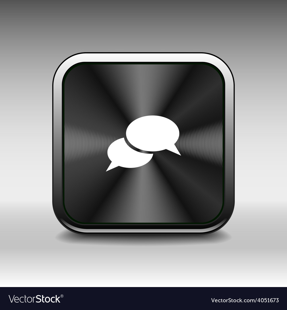 Speech bubbles sign chat icon symbol vector | Price: 1 Credit (USD $1)