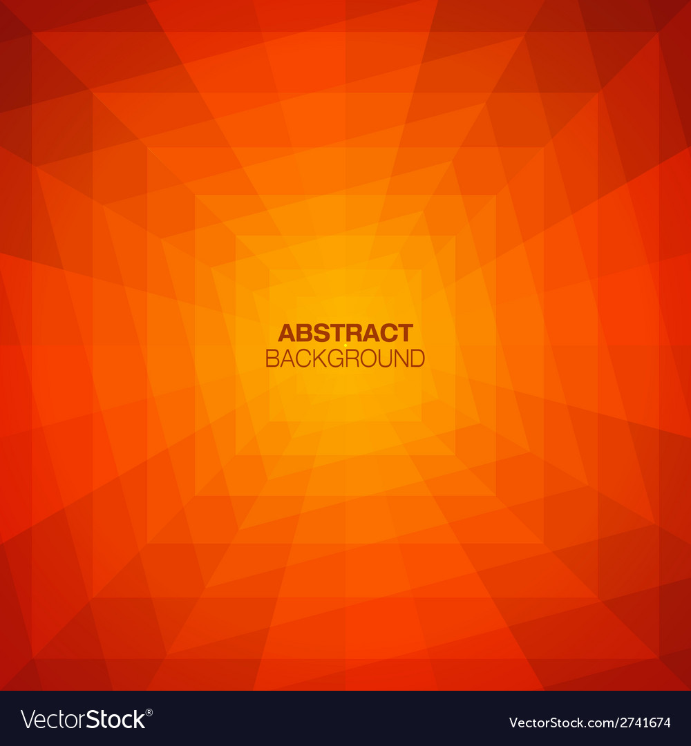 Abstract colorful geometric tunnel background vector | Price: 1 Credit (USD $1)
