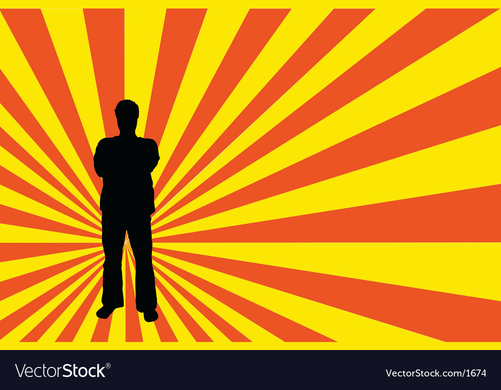 Male silhouette vector | Price: 1 Credit (USD $1)