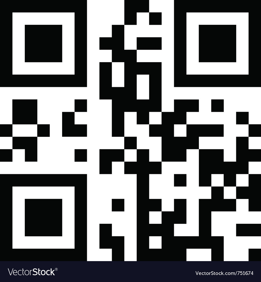 Qr-code vector | Price: 1 Credit (USD $1)