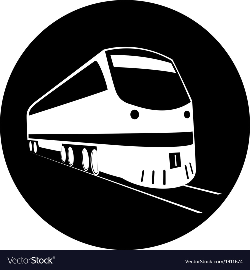 Train icon vector   Price: 1 Credit (USD $1)