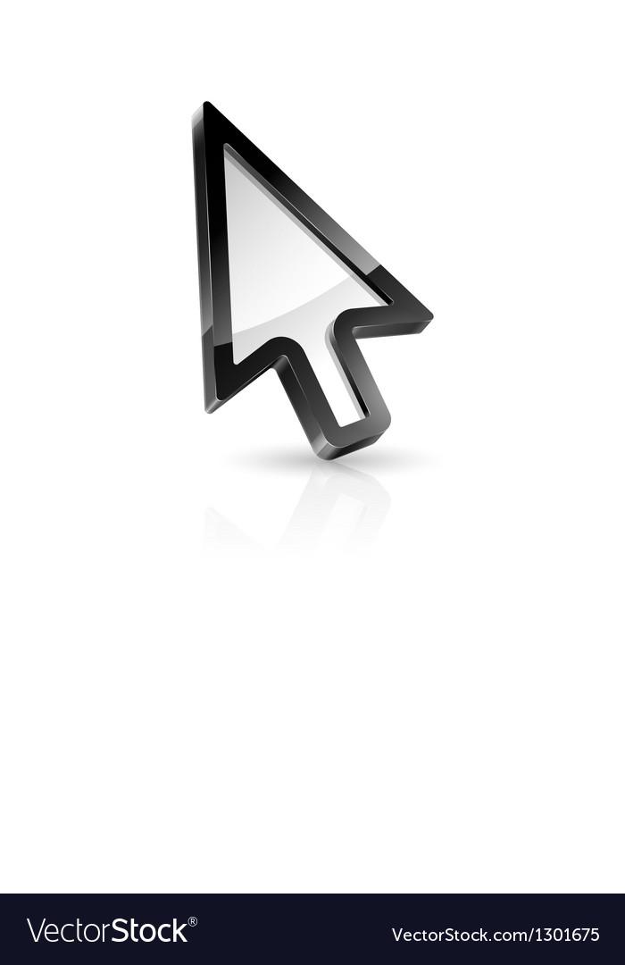 Arrow pointer vector | Price: 3 Credit (USD $3)