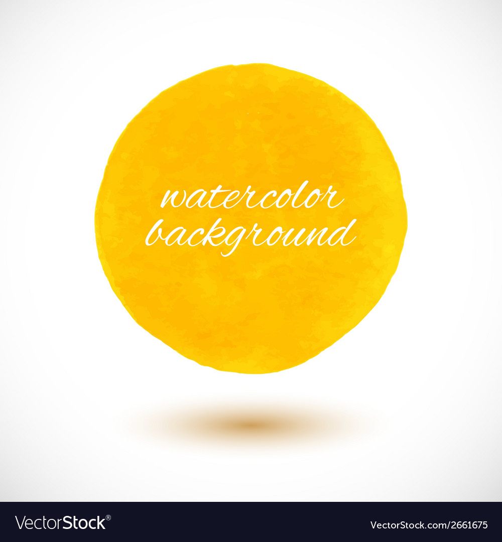 Background with watercolor sphere vector   Price: 1 Credit (USD $1)