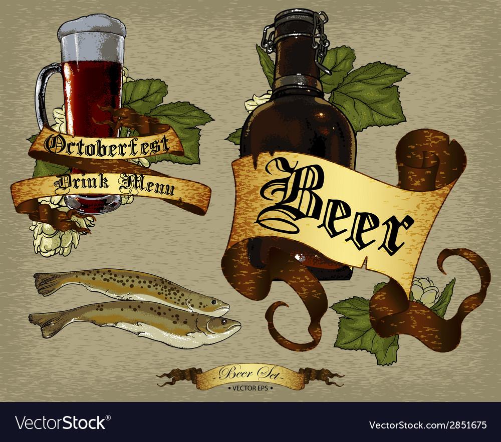Beer design vector | Price: 1 Credit (USD $1)