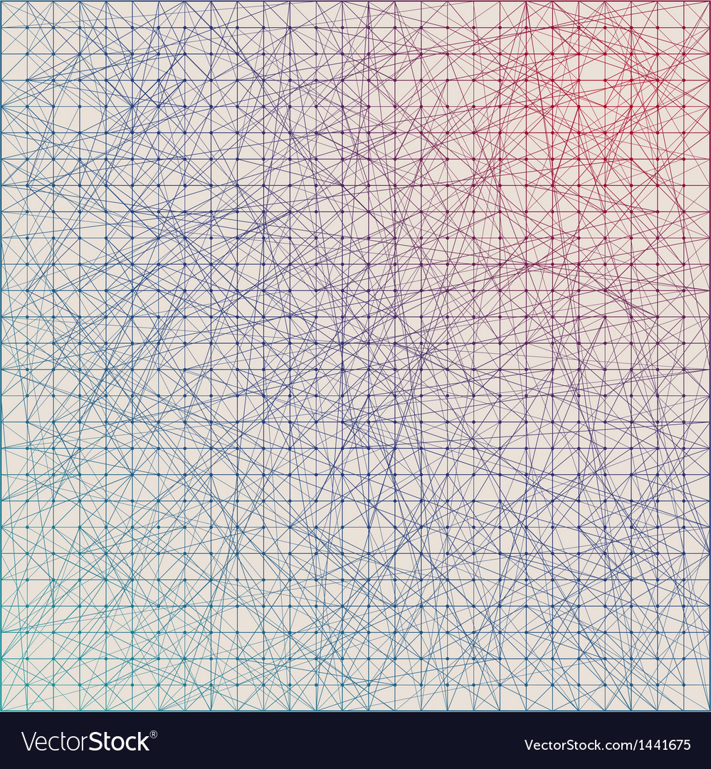 Vintage color graph paper background vector | Price: 1 Credit (USD $1)