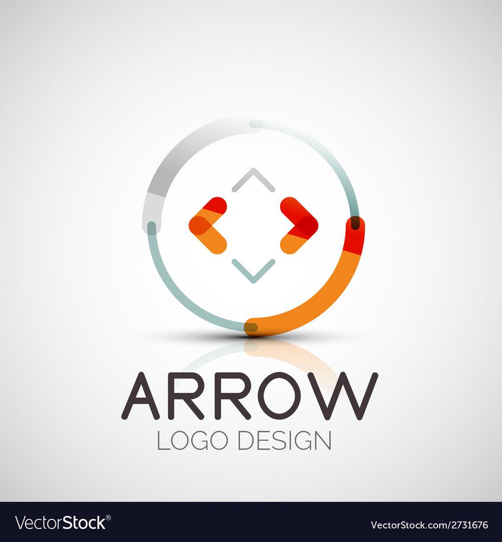 Arrow company logo vector   Price: 1 Credit (USD $1)