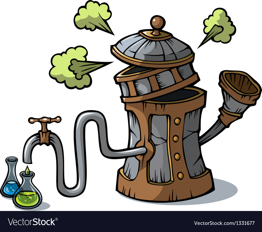Distillation machine vector | Price: 3 Credit (USD $3)