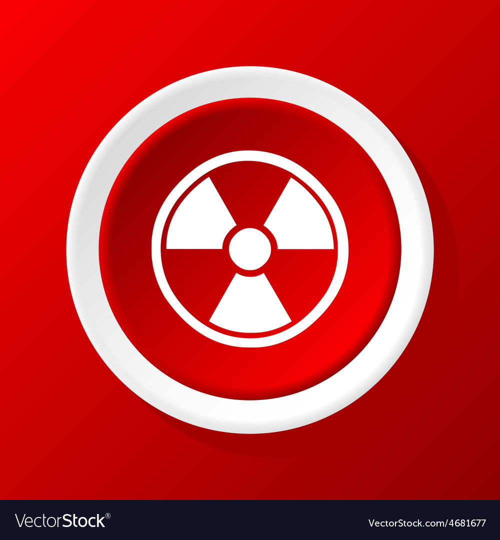 Hazard icon on red vector   Price: 1 Credit (USD $1)