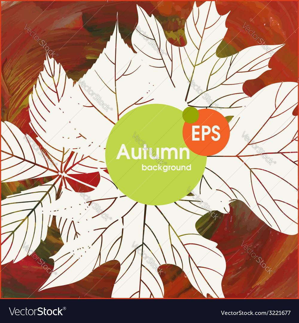 Magic autumn background vector   Price: 1 Credit (USD $1)