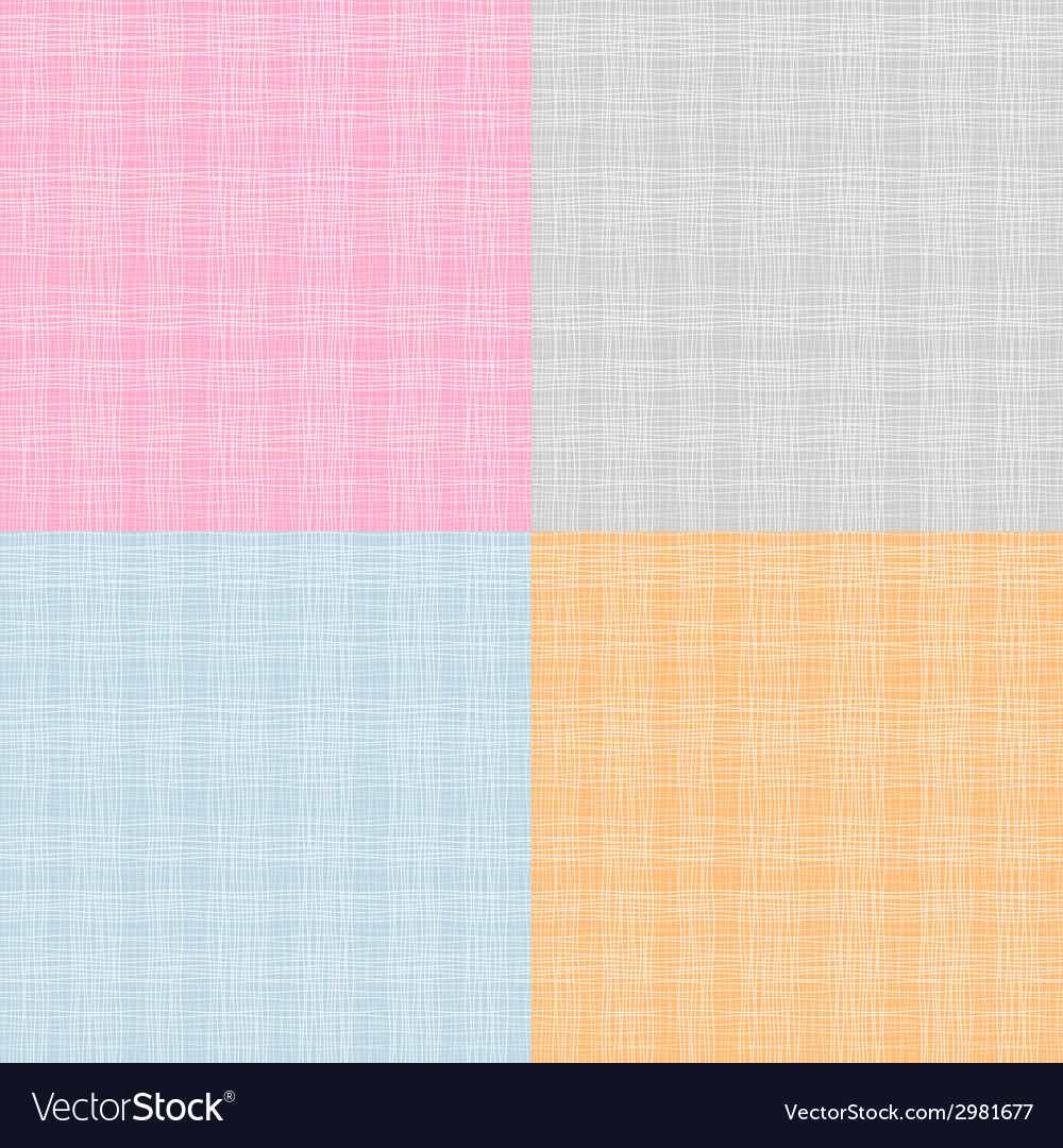 Set of fabric texture vector | Price: 1 Credit (USD $1)
