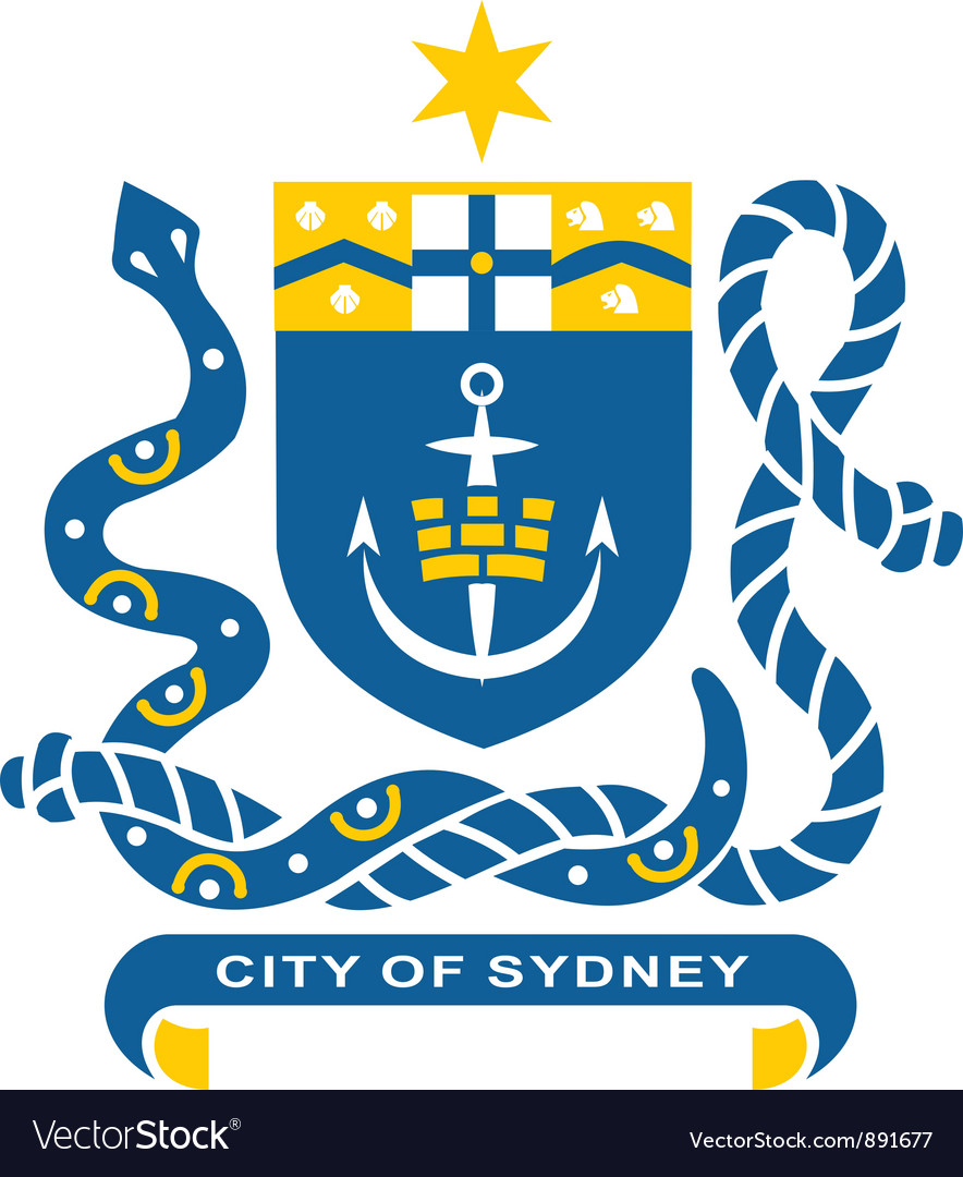 Sydney coat-of-arms vector | Price: 1 Credit (USD $1)