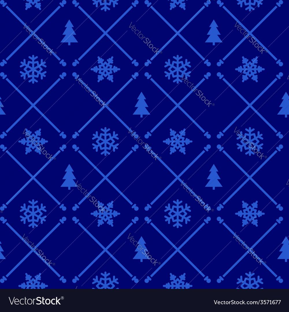 Vintage christmas pattern vector | Price: 1 Credit (USD $1)