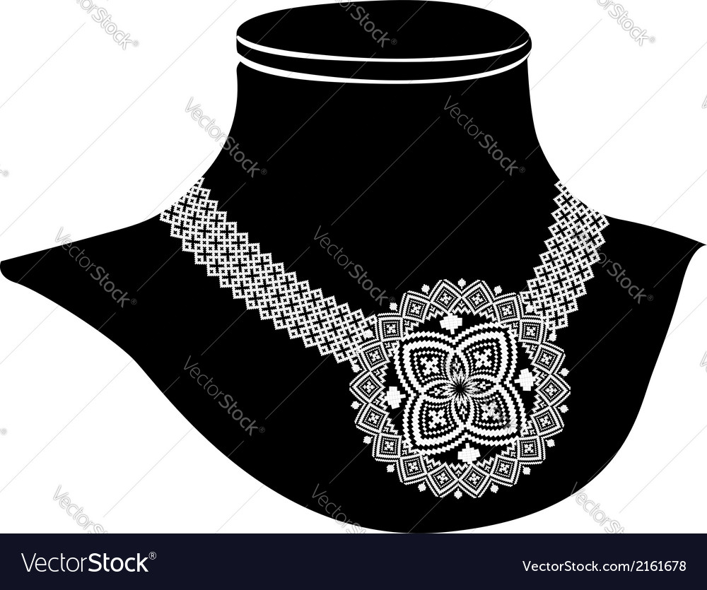 Ancient necklace vector | Price: 1 Credit (USD $1)
