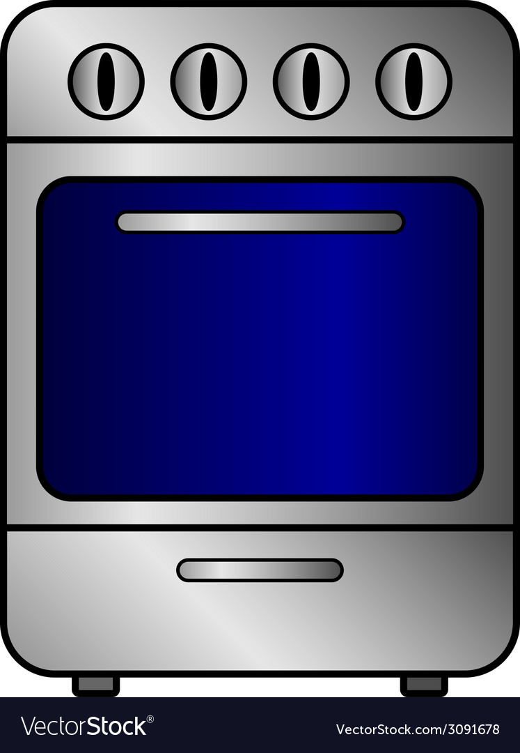 Stove icon vector | Price: 1 Credit (USD $1)