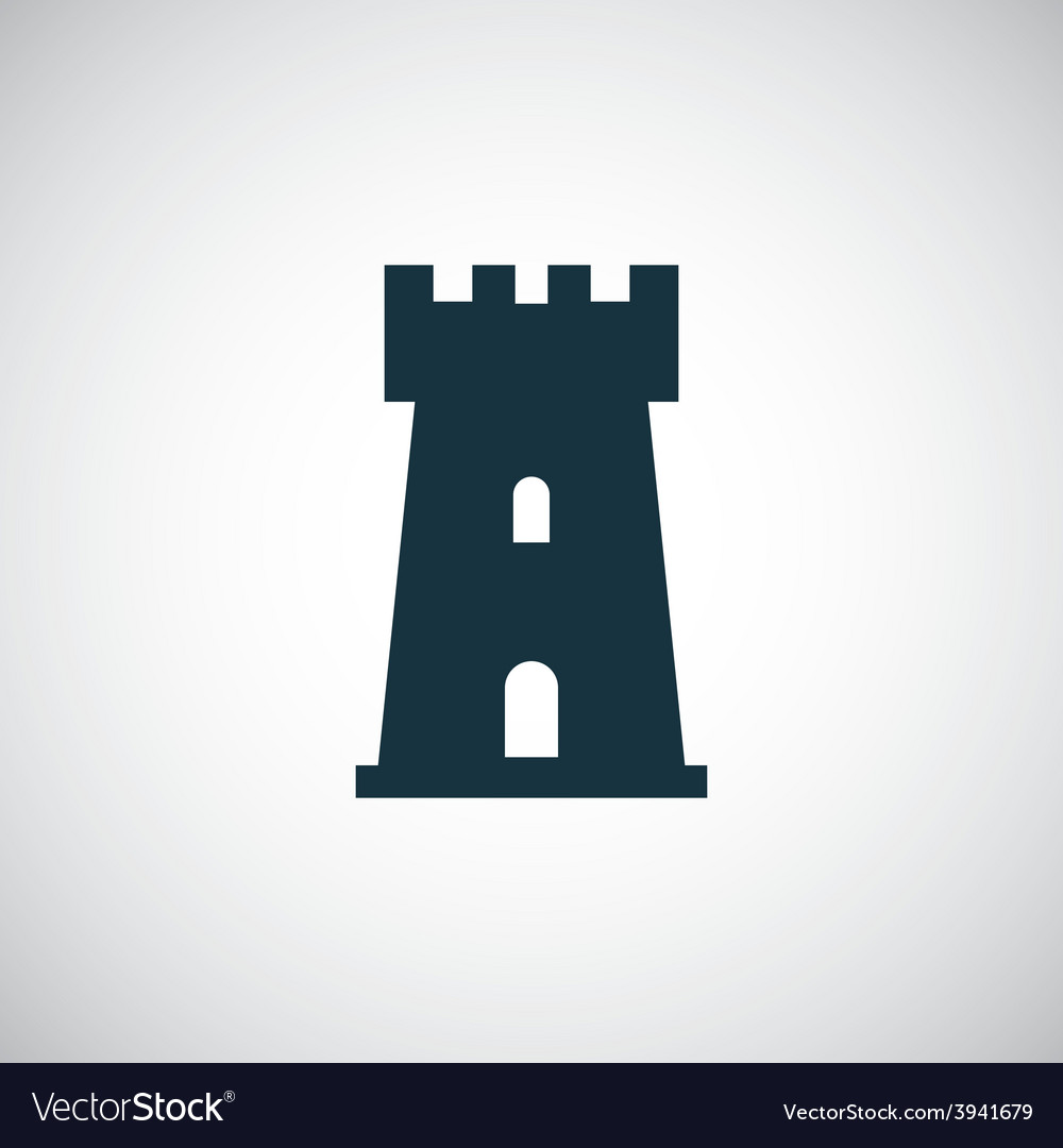 Castle icon vector | Price: 1 Credit (USD $1)