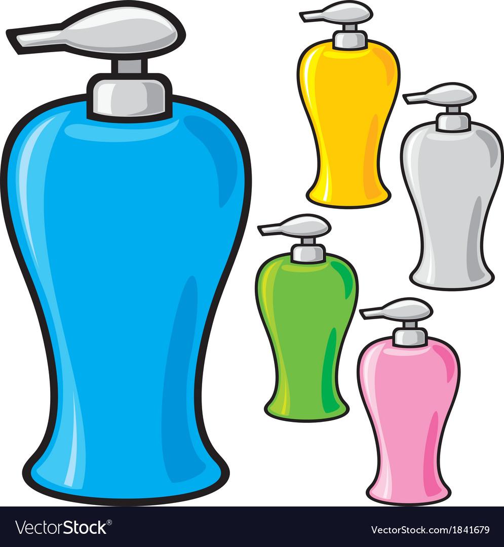 Soap dispenser plastic pump vector | Price: 1 Credit (USD $1)