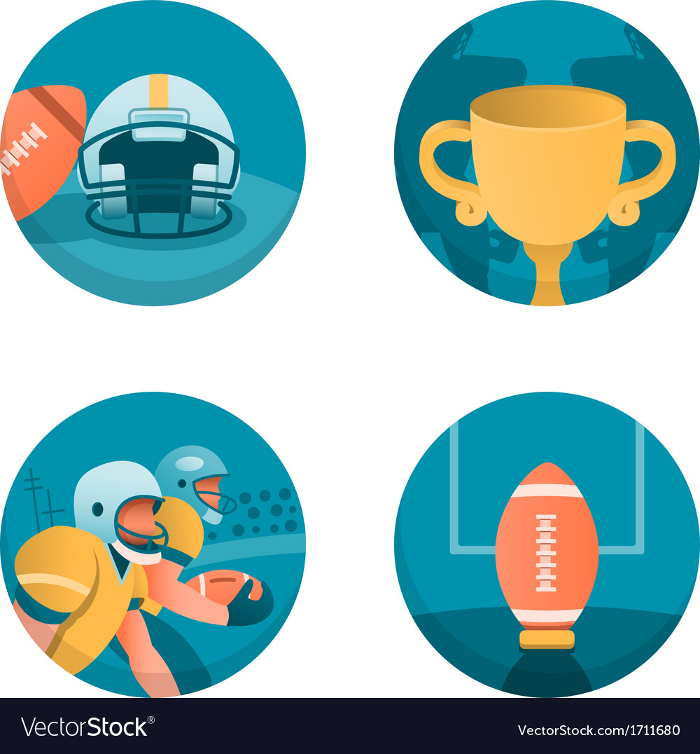 American football part 3 vector | Price: 1 Credit (USD $1)