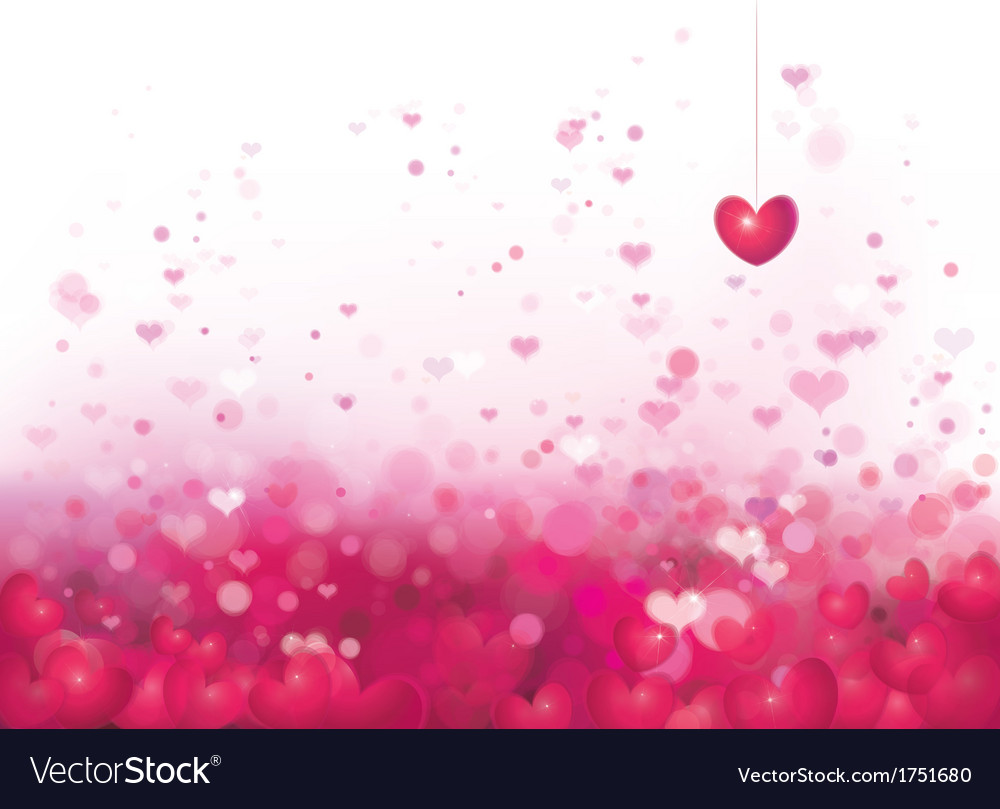 Pink heart background vector   Price: 1 Credit (USD $1)