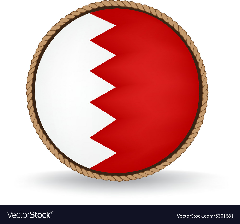 Bahrain seal vector | Price: 1 Credit (USD $1)