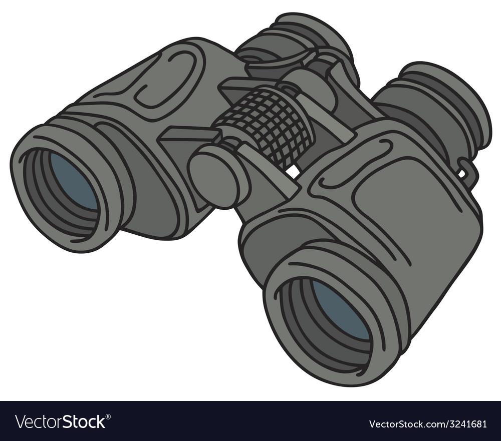 Binoculars vector | Price: 1 Credit (USD $1)
