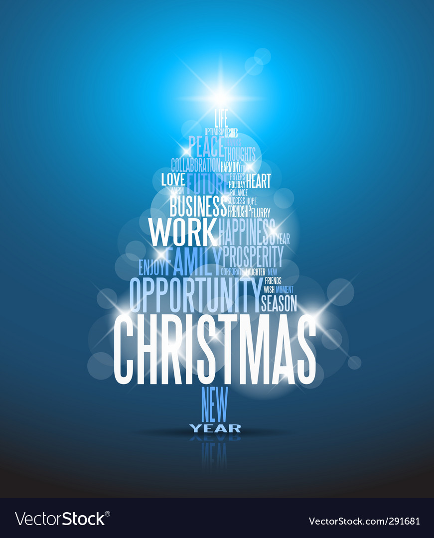 Corporate christmas card vector | Price: 1 Credit (USD $1)