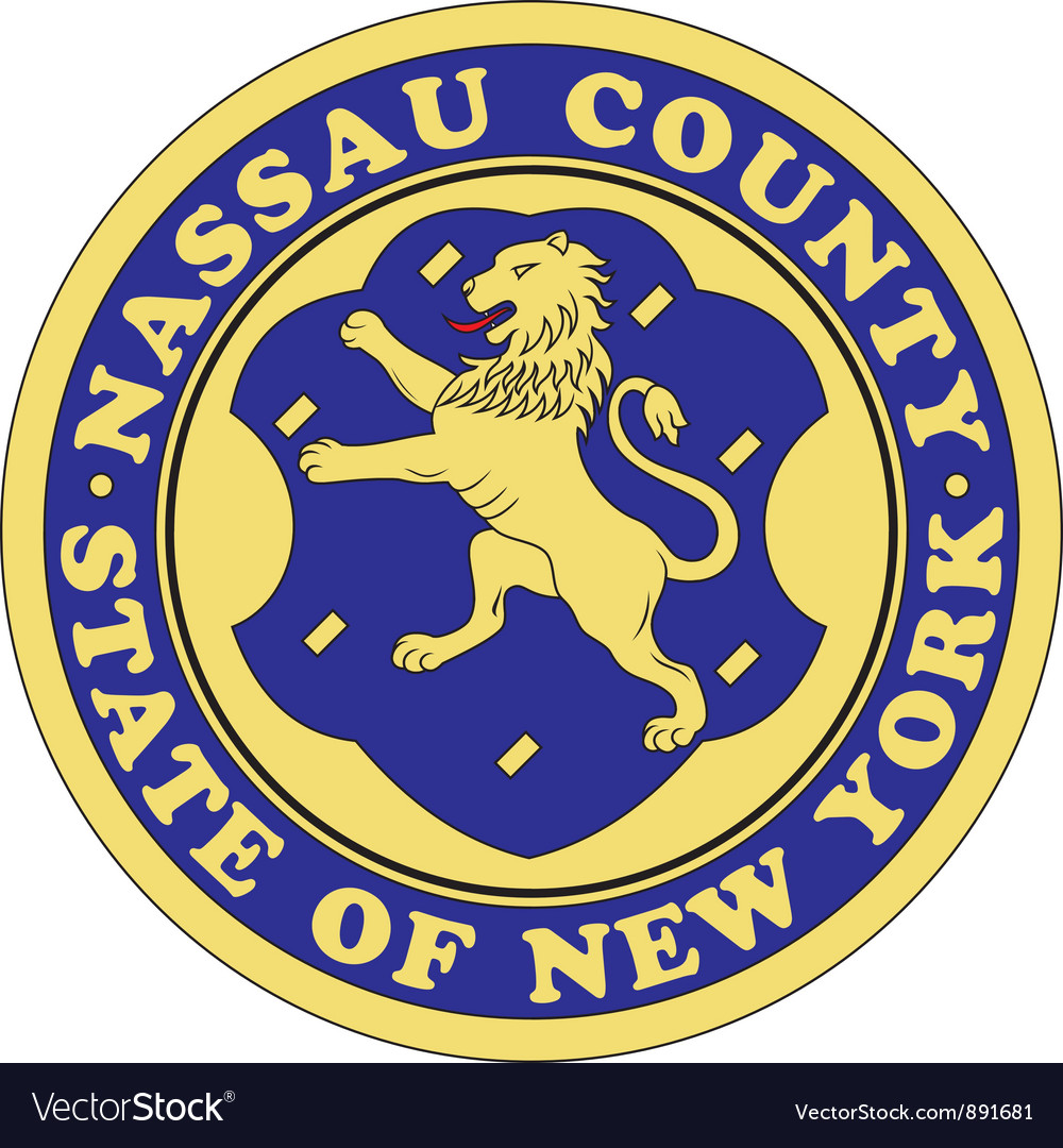 Nassau county seal vector | Price: 1 Credit (USD $1)