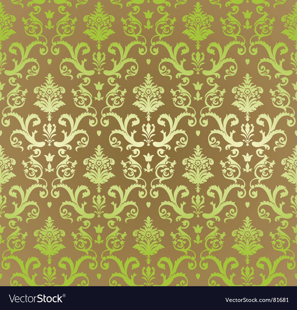 Vintage decorative wallpaper vector | Price: 1 Credit (USD $1)